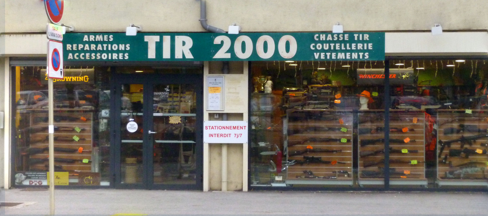 TIR 2000 armurerie coutellerie chasse tir Montbéliard