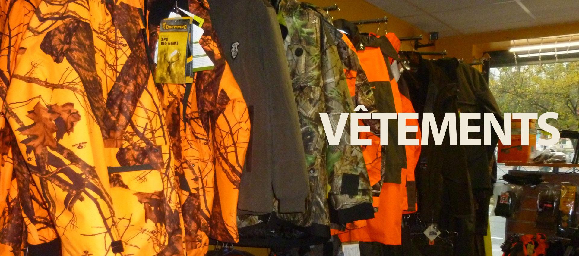 TIR 2000 vêtements de chasse et pêche Montbéliard